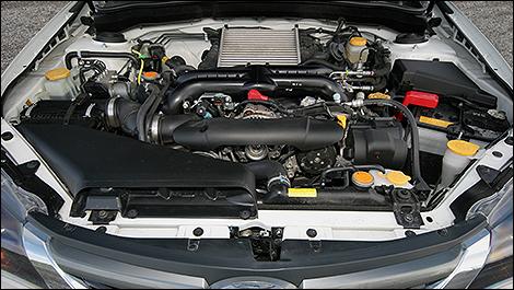 Subaru WRX 2008 moteur