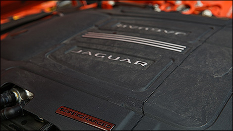 2014 Jaguar F-TYPE engine