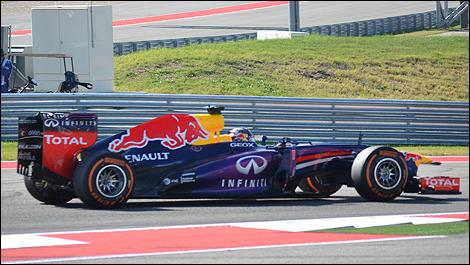 USGP 2013 Austin Sebastian Vettel, Red Bull Racing