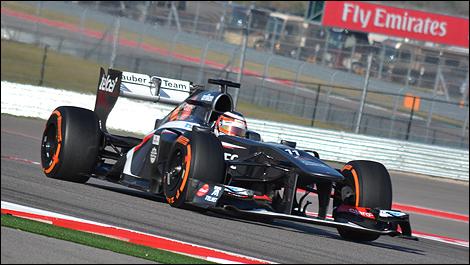 USA F1 2013 Nico Hulkenberg, Sauber