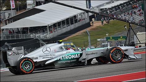 2013 US F1 Grand Prix Lewis Hamilton, Mercedes AMG