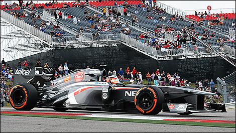 2013 US F1 Grand Prix Nico Hulkenberg, Sauber
