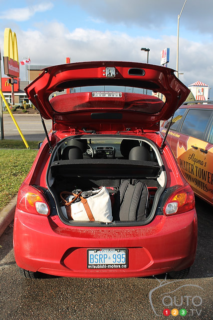 College Road Trip: 2014 Mitsubishi Mirage