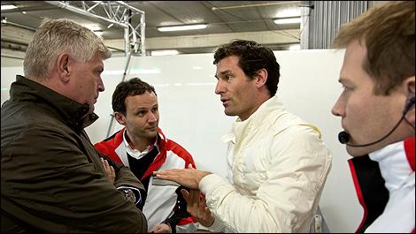 Endurance: Mark Webber drives Porsche LMP1 (+photos)