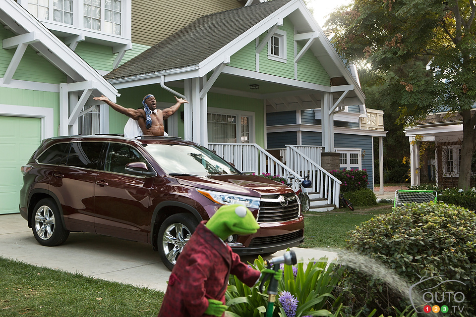 The Muppets team up with 2014 Toyota Highlander for Super Bowl ad (video)