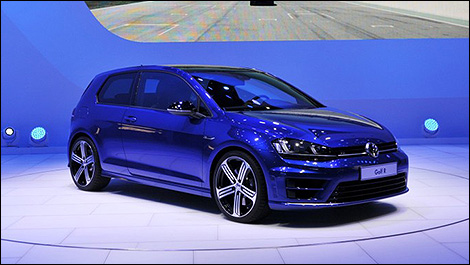 volkswagen golf r 2015 aper u nouvelles auto123. Black Bedroom Furniture Sets. Home Design Ideas