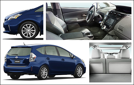 2014 toyota prius v preview car news auto123. Black Bedroom Furniture Sets. Home Design Ideas