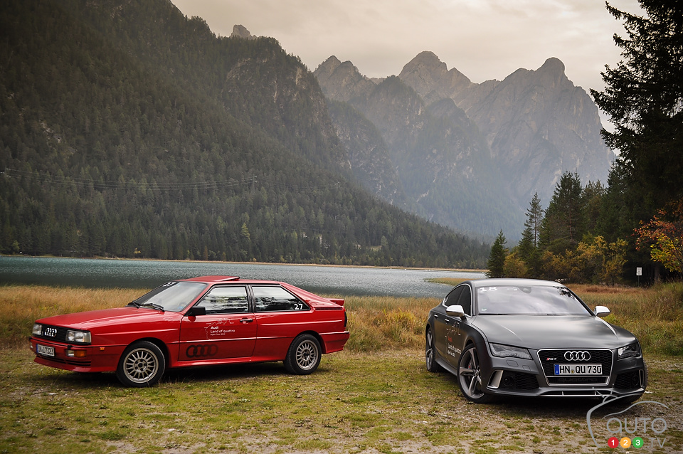 Audi's Land of Quattro