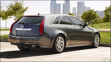 2014 cadillac cts sport wagon preview car news auto123. Cars Review. Best American Auto & Cars Review
