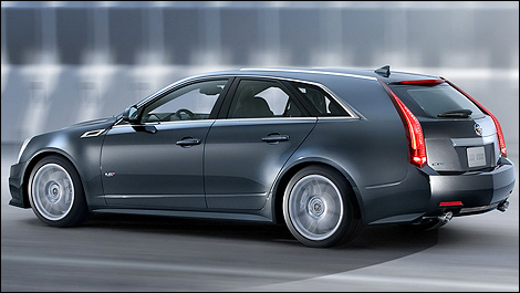 2014 cadillac cts v sport wagon preview car news auto123. Black Bedroom Furniture Sets. Home Design Ideas