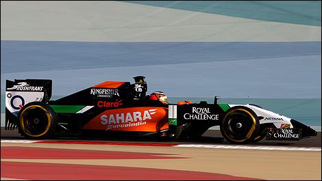F1 Bahrain texte 2014 Nico Hulkenberg, Sahara Force India