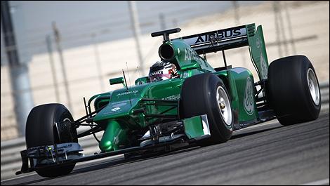 F1 Bahrain texte 2014 Kamui Kobayashi, Caterham