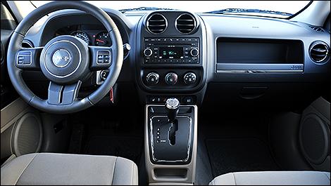 2011 Jeep Patriot cabin