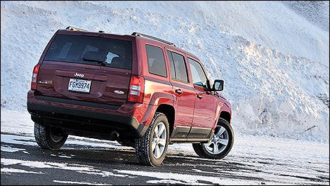 2011 Jeep Patriot rear 3/4 view
