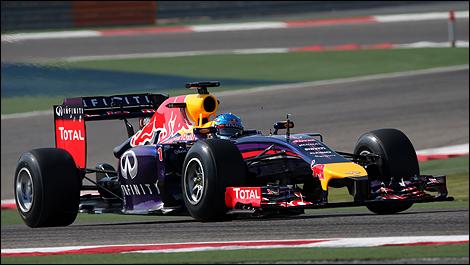 F1 Red Bull RB10 Sebastian Vettel