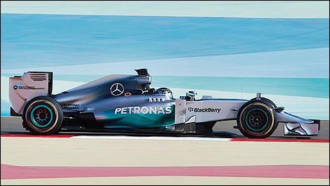 F1 Mercedes W05 Nico Rosberg