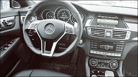 2014 Mercedes-Benz CLS 63 AMG cabin