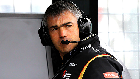 Nick Chester, Lotus' technical director