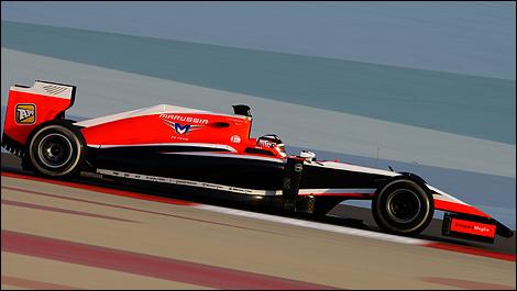 2014 F1 winter testing Bahrain Jules Bianchi, Marussia