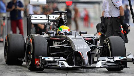 2014 F1 winter testing Bahrain Esteban Gutierrez, Sauber