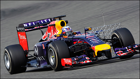 2014 F1 winter testing Bahrain Daniel Ricciardo, Red Bull Racing