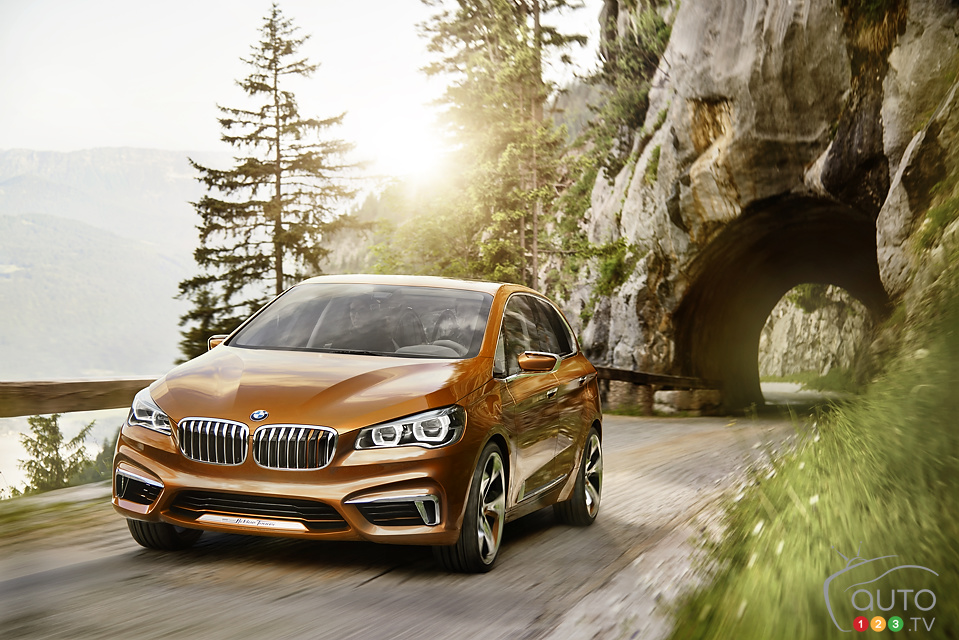 BMW 2 Series Active Tourer heading to U.S.