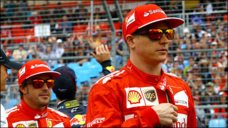 Raikkonen: Many reasons for Alonso dominance