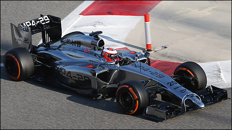 F1 McLaren MP4-29 Mercedes Bahrain Kevin Magnussen