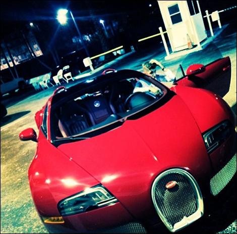 Une Bugatti Veyron en cadeau pour Justin Bieber