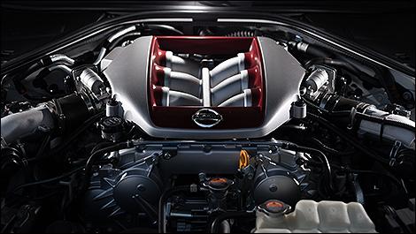 2013 Nissan GT-R engine