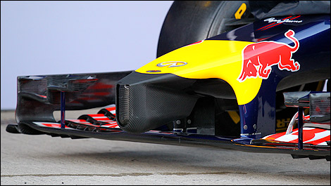 F1 Red Bull RB10 nose