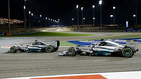 F1 Lewis Hamilton Mercedes Nico Rosberg Bahrain