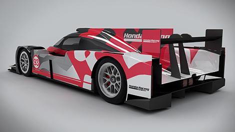 ARX-04b LMP2 Coupe Honda Racing