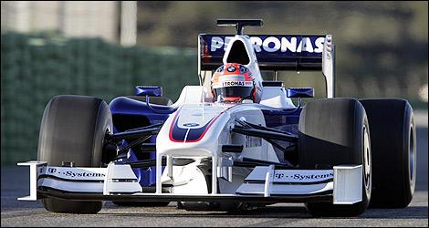 F1 BMW 2009 Robert Kubica