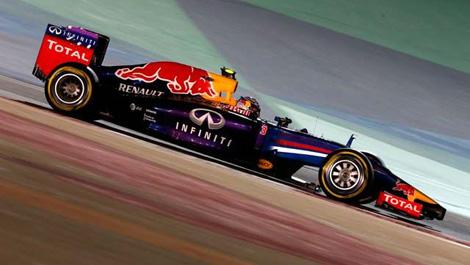 Daniel Ricciardo, Red Bull RB10 F1