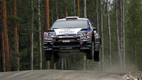 WRC Ford Fiesta RS Evgeny Novikov