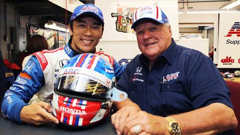 IndyCar, Takuma Sato A.J. Foyt