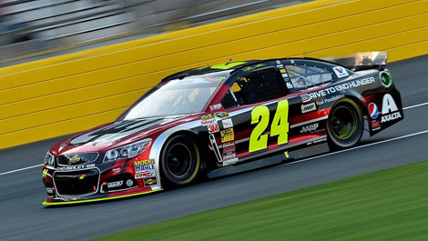 Jeff Gordon, Hendrick Motorsports Chevrolet No. 24, Dover NASCAR