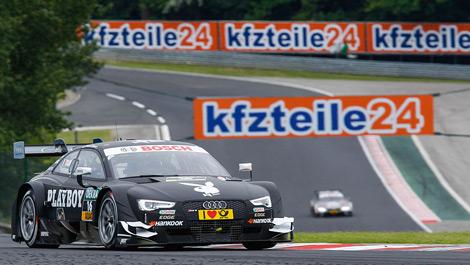 Adrien Tambay, Audi RS 5 DTM Hungaroring