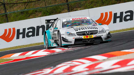 Daniel Juncadella, Mercedes C-Coupe Hungaroring