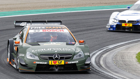 Robert Wickens, Mercedes C-Coupe Hungaroring