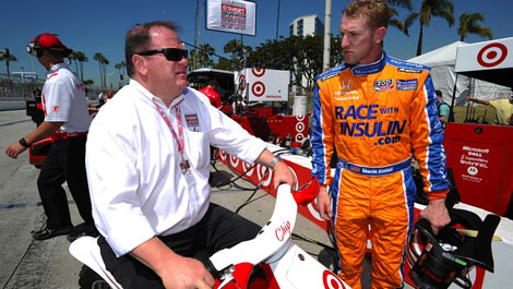 Chip Ganassi with Charlie Kimball