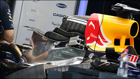 F1 Red Bull RB10 Renault engine