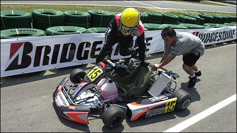 Lewis Hamilton, mbm.com karting