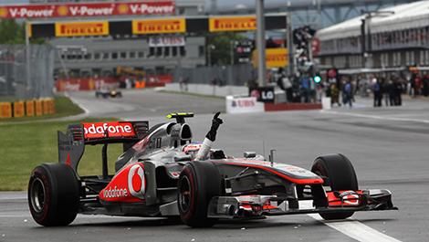 F1 McLaren 2011 Jenson Button