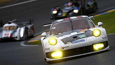 WEC Porsche 911 RSR GTE