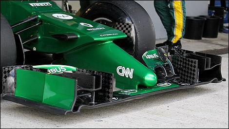 F1 Caterham CT05 nose