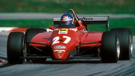F1 Patrick Tambay Ferrari 1982