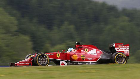 F1 Ferrari F14 T Fernando Alonso