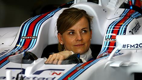 F1 Susie Wolff Williams FW36 Mercedes